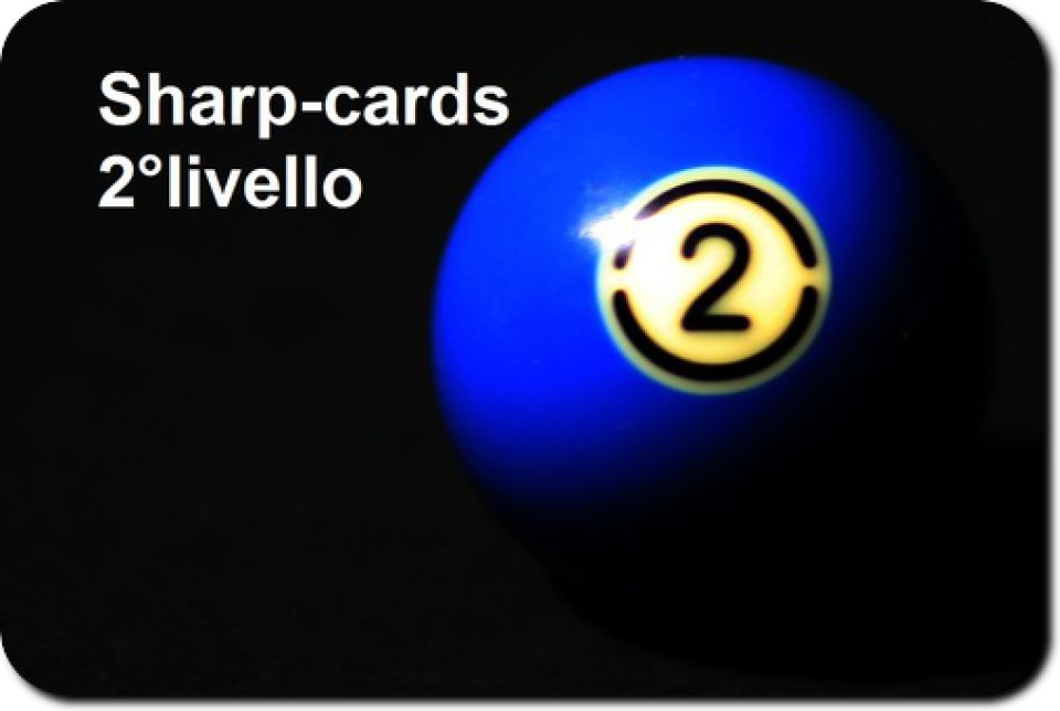 Sharp-cards 2°livello